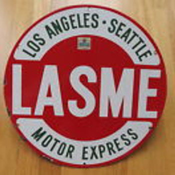 LOS ANGELES SEATTLE MOTOR EXPRESS - Signs
