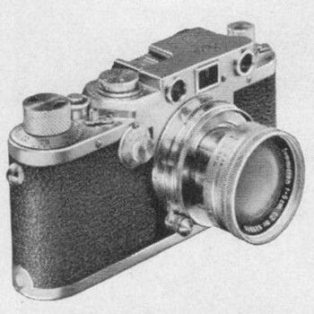 1953 - Leica III Camera Advertisement
