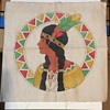 Vintage Indian cloth print unknown style