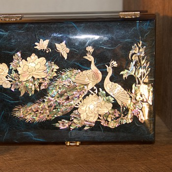 asian jewelry box - Asian