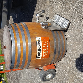 Richardson Root Beer Barrel - Advertising