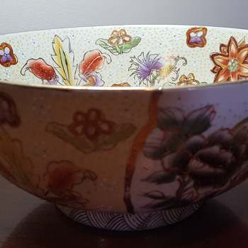 Hand Painted Bowl - Art Pottery