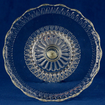 Martha's Tears by Brilliant Glass Company c1889 - Glassware