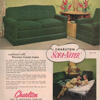 1950 Charlton Furniture Advertisement