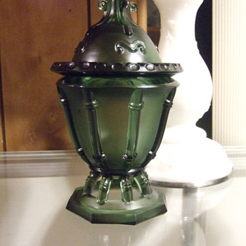 Emerald Green Compote/Candy Dish