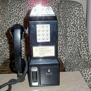 My Vintage Pay Phone - Telephones