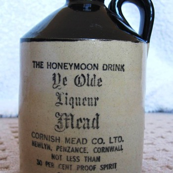 Ye Old Liqueur Mead Jug