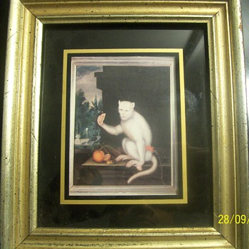 unknow dutch or english artist painting call portrait of a monkey