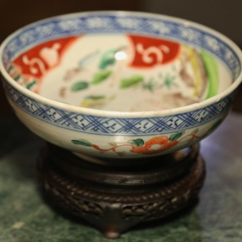 Imari Bowl with good painting - Asian