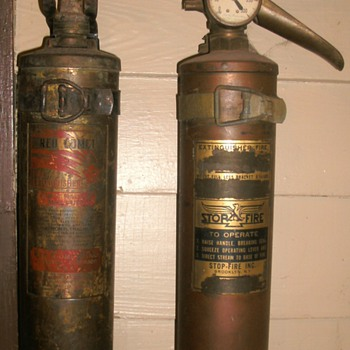 Antique Fire Extinguishers - Firefighting