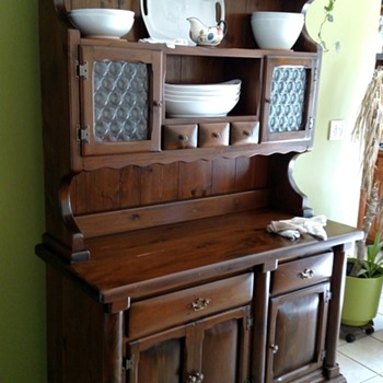 Buffet and Hutch...do you know anything about who made it? - Kitchen
