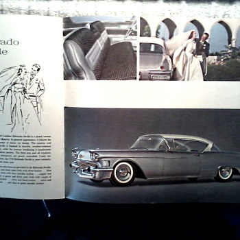 More Cadillac Goodness ! / Cadillac Brochure Part II /Circa 1958