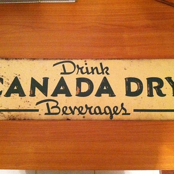 Canada Dry sign - Signs