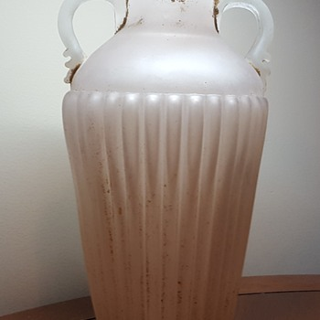 Large Glass Urn Vase