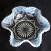 Dugan/Northwood Blue Opalescent Victor aka Jeweled Heart Master Berry