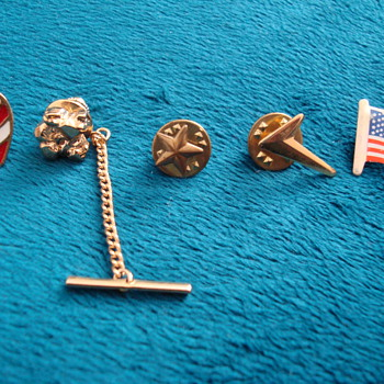 Possible Military Pins and Misc Unidentified