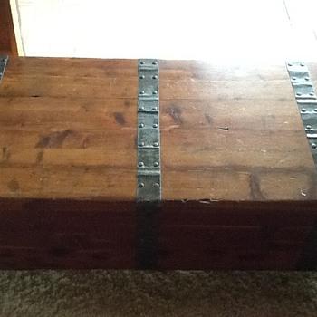 Vintage cedar chest