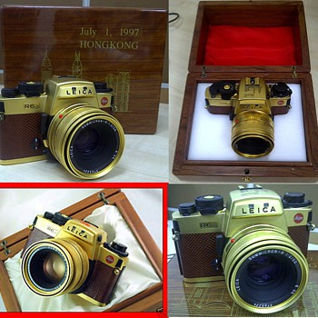 Leica R6.2 Gold Plated - Cameras