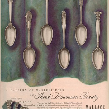 1950 Wallace Sterling Advertisements 2 - Advertising