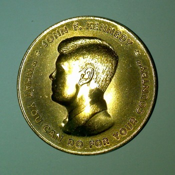Kennedy China Lake Presidential Visit Coin