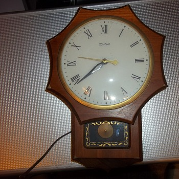 VINTAGE ELECTRIC CLOCK