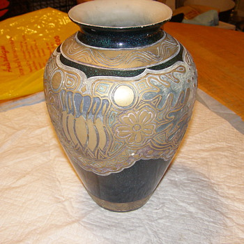 VERY DIFFERANT LOOKING VASE-OR MAYBE POTTERY ART!IM OPEN ON THIS 1 FOR SURE! - Art Pottery