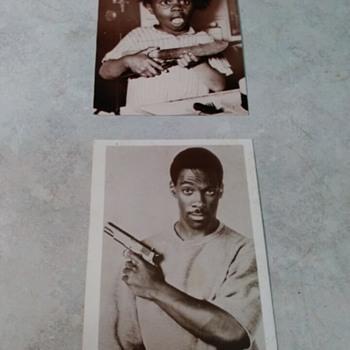 EDDIE MURPHY AND BUCKWHEAT PHOTOCARDS - Postcards