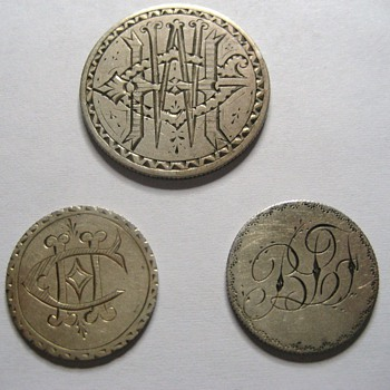 Seated Liberty Love Tokens