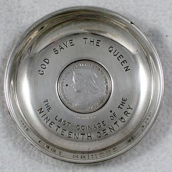 Queen Victoria Silver Dish #2