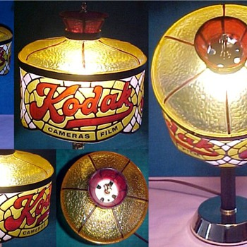 kodak tiffany lamp - Lamps