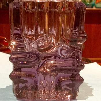 Sklo union candle holder - Art Glass