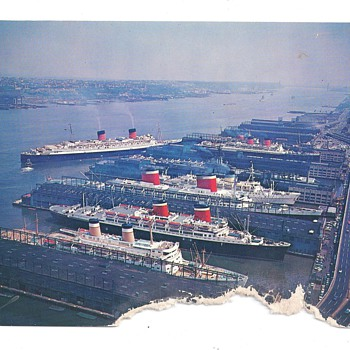 THE PORT OF NEW YORK - Postcards