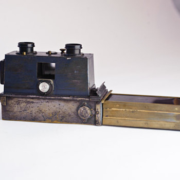 Verascope1895.  Stereoscopic Camera
