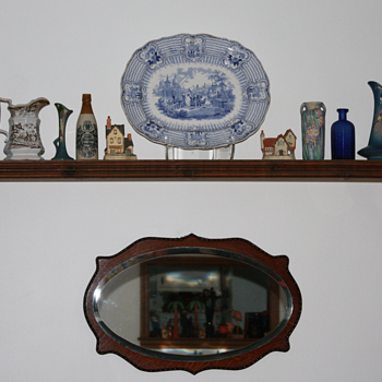 ----Old 1850&#039;s China Plater----