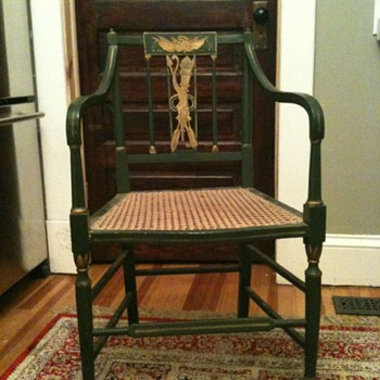 Portsmouth New Hampshire or Phildelphia Federal Armchair - Furniture