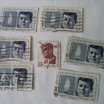 John F. Kennedy USA Stamps