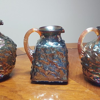 3 Small Pitchers