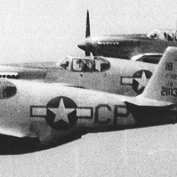 P-51s fighters