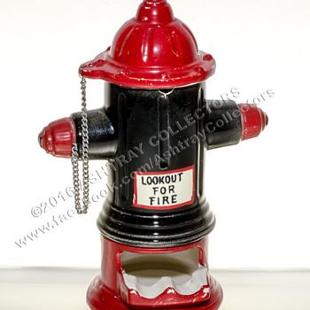 Fire Hydrant Ashtray