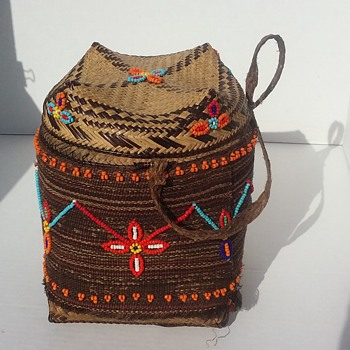 Help Me Identify This Basket Origin - Native American