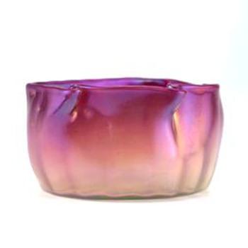 Loetz Pensee Verlaufend Vase c.1902 - Art Glass
