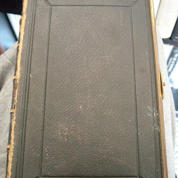 1860 Leather Bound Bible