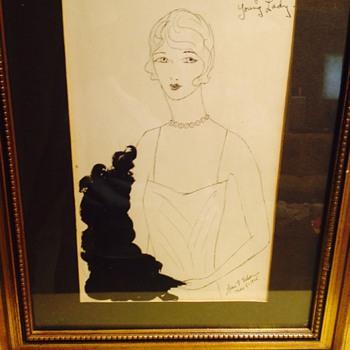 Sassy Lady - Art Deco