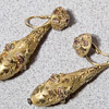 22k Gold Earrings Vintage