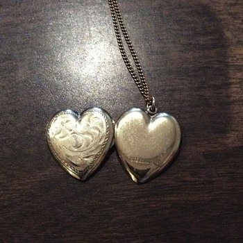 mystery locket - Sterling Silver