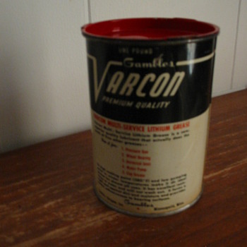 Varcon Oil Can - Petroliana