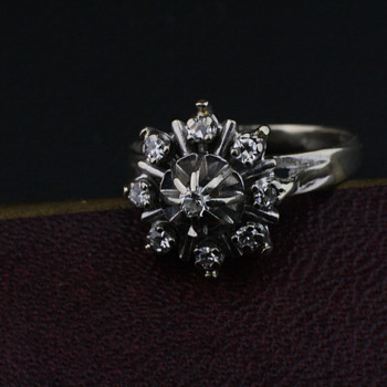White gold ring - Fine Jewelry