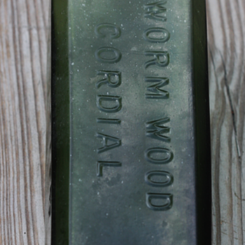 ~~~Old Worm Wood Cordial~~~ - Bottles