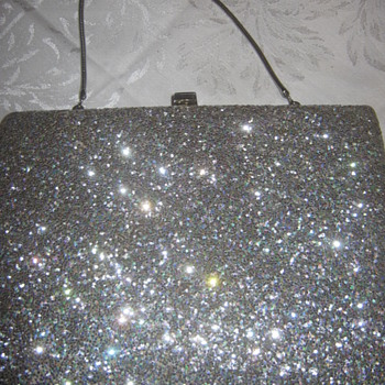 Vintage La Patti Exclusive Silver Bag/Clutch - Bags
