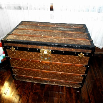 Louis Vuitton Antique Trunk - Furniture